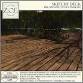 Z.O.E. Sketchy Deck Building Kit