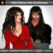 A&A Elarion Hair Darkbrown (unisex long curly hairstyle)