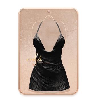 Cynful Sparkle Dress - Black   Maitreya Lara, (+ Petite), Belleza Freya, Slink (HG), Legacy, (+Perky)