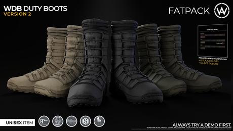 [WAZ] Waz Duty Boots (Fatpack)