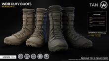 [WAZ] Waz Duty Boots (Tan)