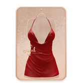 Cynful Sparkle Dress - Red