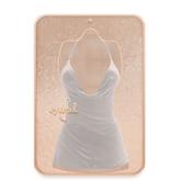 Cynful Sparkle Dress - White