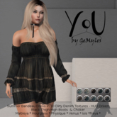 YoU by GeMyles Barbara Dirty Dress and Boots