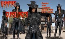 Vampire gunslinger outfit