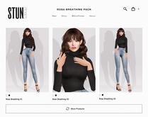 STUN - Anim Pack Collection Bento 'Rosa' #28
