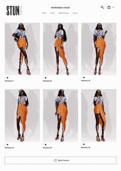 STUN - Pose Pack Collection Bento 'Wanessa' #156