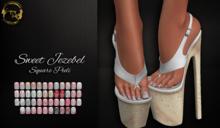 ~GD~Sweet Jezebel(PEDI) - Slink Deluxe Mesh Feet (ALL)