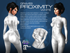 GRAVES Proximity - White - leather latex bodysuit, catsuit, plugsuit, undersuit - Maitreya and Omega appliers