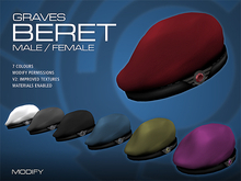 GRAVES Beret - 7 Colours