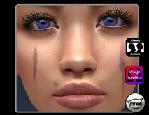Facial Scars Appliers [bom/catwa/omega]