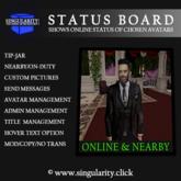 Status Board by SINGUALRITY.CLICK
