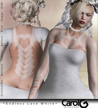 Endless Love TaTToo White [CAROL G]