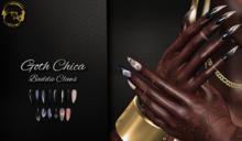 ~GD~Goth Chica(Baddie Claws) - Maitreya Bento Hands