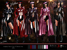 *PROMO* Maddison Leather Trench Coat, High Shine HD/3D, Advanced Lighting, Long Coat, Jacket, 10 Colors, Hud, Fatpack