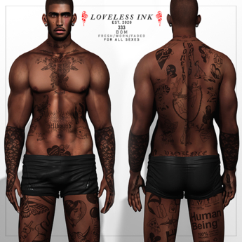 Loveless Ink - 333