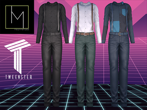 MeshMerized - casual outfit Demo
