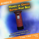 Hands of Omega (HoO) Exterior - British Post Box