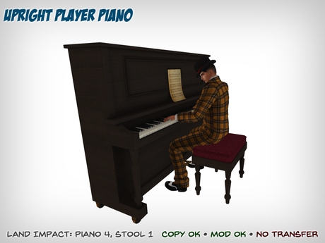 Upright Player Piano