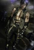 9.::GB:: Sp Belt / Brown Geralt