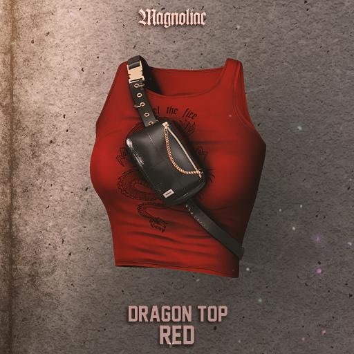 Magnoliac - Dragon Top (Red)