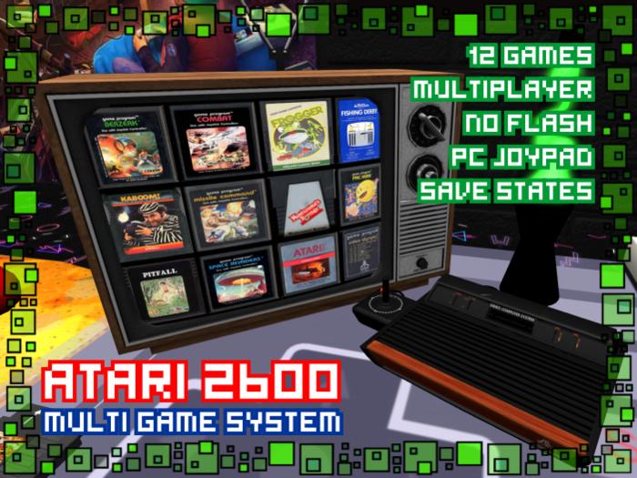 Atari 2600 - Multi Game System - Multiplayer - Noflash