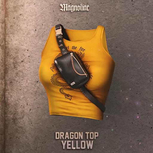 Magnoliac - Dragon Top (Yellow)