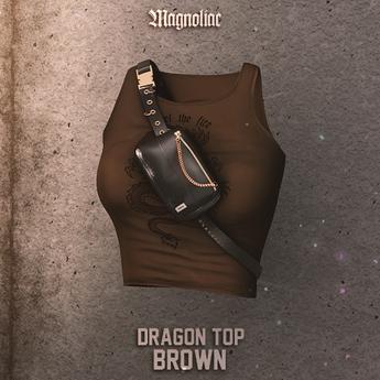 Magnoliac - Dragon Top (Brown)