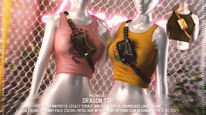 Magnoliac - Dragon Top (Fatpack)