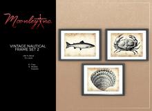 Moonley Inc. - Vintage Nautical Frame Set 2