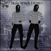 Male Witch Outfit DEMO (ADD ME)
