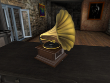 VRDz Decor Phonograph Media Player