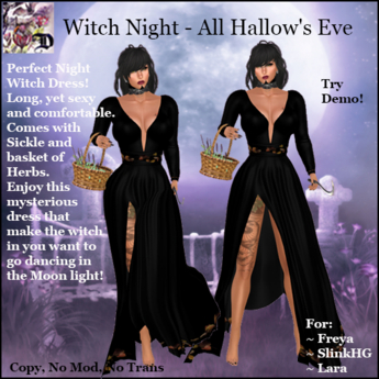 Witch Night - All Hallow's Eve (ADD ME)
