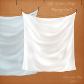 Zigana .hanging sheets  . boxed