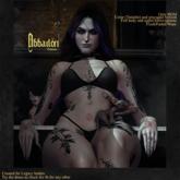 Sköll - Abbadon tattoo /BOM