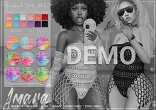 *B.D.R.* Amara -Crochet Swimsuit- DEMO