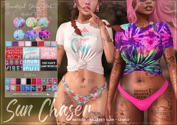 *B.D.R.* Sun Chaser -Outfit-