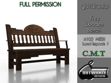 .::QUTWORLD Free Wooden Bench::.FP