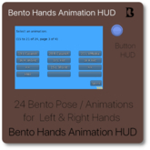 Bento Hands Positions Animation HUD