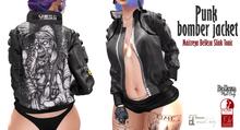 Punk bomber jacket