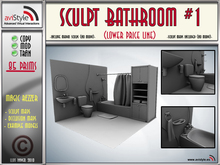 Sculpt Bathroom #1 by **aVISTYLe** (Low Price Line) - for FULL PERM !! + TEXTURES