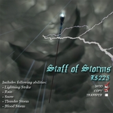 Staff of Storms
