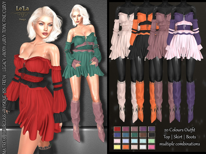{Le'La} Caligari Outfit >50% Off Promo<