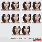 SEmotion Smile Expression HUD Set 1 [Catwa]