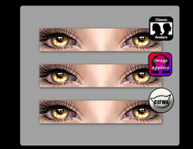 [glo] Catwa, Omega, & Standard Eye Appliers [brown]