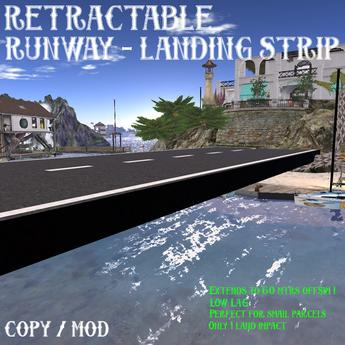 RETRACTABLE Runway - Landing Strip (BOXED)