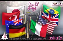 Astralia - Animesh World flags Pack