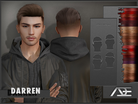 Ade - Darren Hairstyle (Reds)