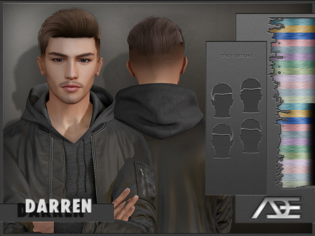 Ade - Darren Hairstyle (Pastels)