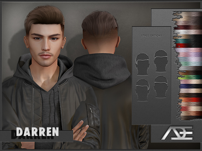 Ade - Darren Hairstyle (Ombres)